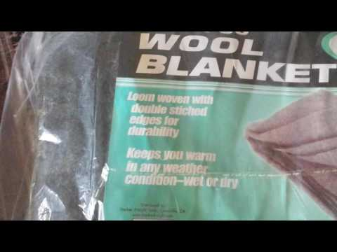 Harbor Freight 80/20 Wool Blanket
