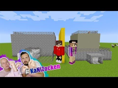 KAANS Riesen GEFÄNGNIS vs NINAS Mini GEFÄNGNIS! Für Polizisten & Gefangene - Minecraft Build Battle