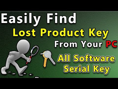 How To Find Lost Product Key | Find All Software's Lost Product Key | In Hindi/Urdu |