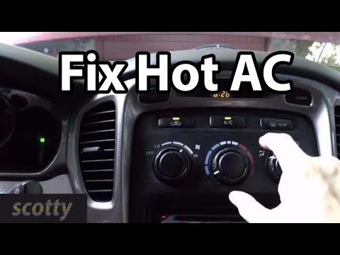 Fixing Hot AC Cheaply