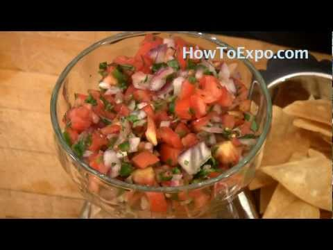 Recipe For Pico De Gallo Salsa Also Known As Mexicana Recipe Or Salsa Fresca