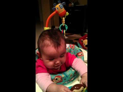Hazel talking back at a early age lol
