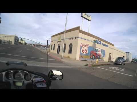 2016:01:19 1 Riding through Needles, CA on Historic Route 66
