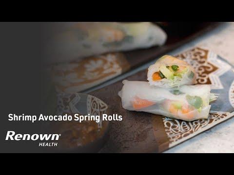 Shrimp Avocado Spring Rolls