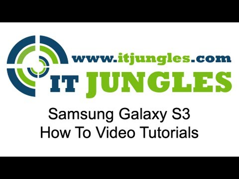 Samsung Galaxy S3: How to Assign Ringtone to a Contact Group
