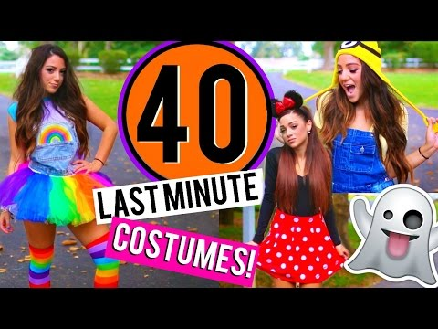 40 Last-Minute DIY Halloween Costumes! Niki and Gabi