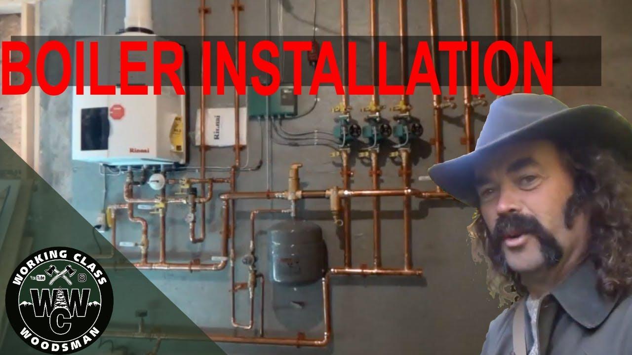 Installing a Rinnai, Modern Condensing Combination Boiler