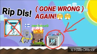Making Axe Of Winter! OMG ( GONE WRONG! ) - Growtopia