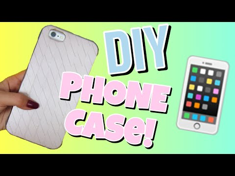 DIY EASY IPHONE CASE!! | MAKE YOUR OLD PHONE CASES LOOK LIKE NEW IN LESS THAN 2 MINUTES!