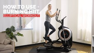 Burning Elliptical HIIT Workout for Beginners + How to Use Effectively