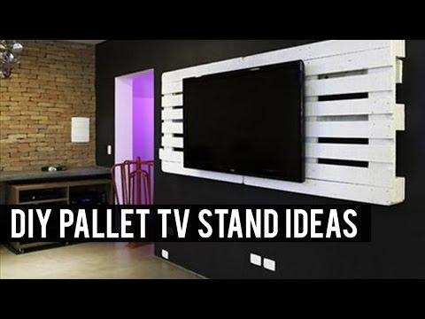 DIY Pallet TV Stand Ideas