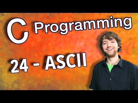 C Programming Tutorial 24 - ASCII