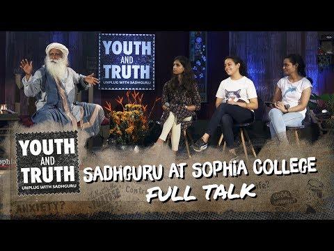 Xxx Mp4 Sadhguru At Sophia College – Youth And Truth Full Talk 3gp Sex