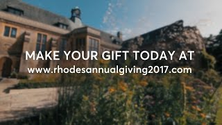 Rhodes Groups - Donate to the Rhodes Scholarships