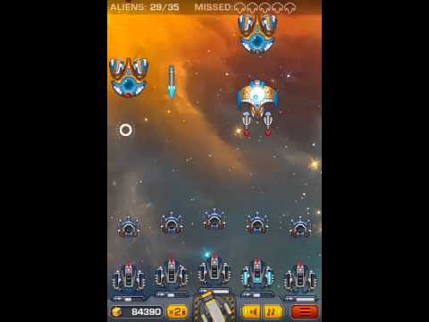 Battle Station (Vertical space shooter flash game.)