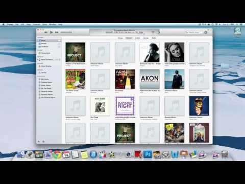 How To Get Album Art Work For iTunes Music | Simple Tutorial | NO Downloads!