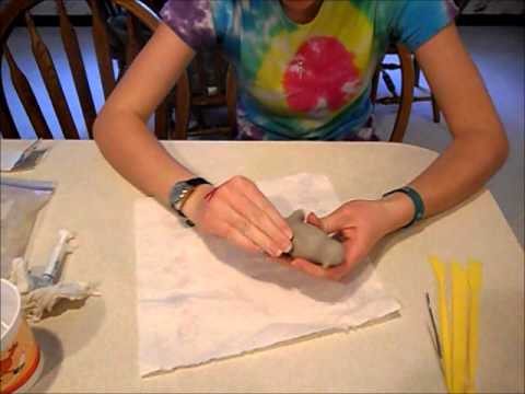How to Make a Bird Out of Clay