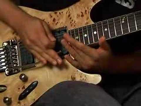 Herman Li Guitar lesson part 7 natural harmonics
