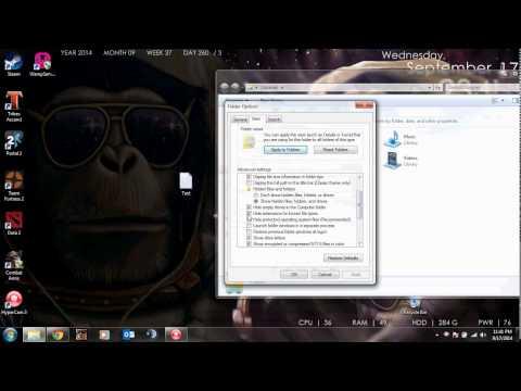 Showing file extension types | TutorialRegion