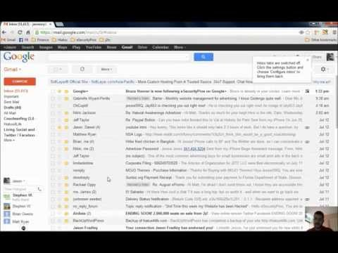 How To Remove Gmail Tabs and Get Your Old Gmail Inbox Back