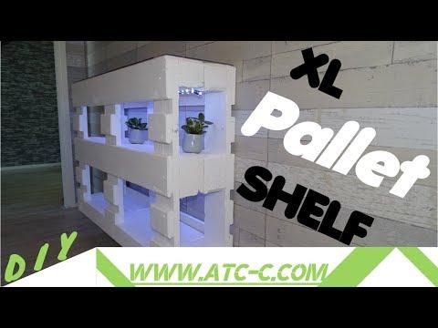 XL pallet shelf // DIY