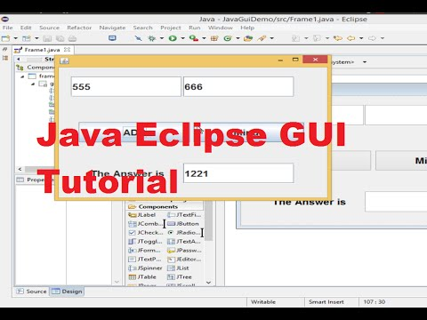 Java Eclipse GUI Tutorial 3 # Database  Connection ( Sqlite )  to Java  Part 1 of 2