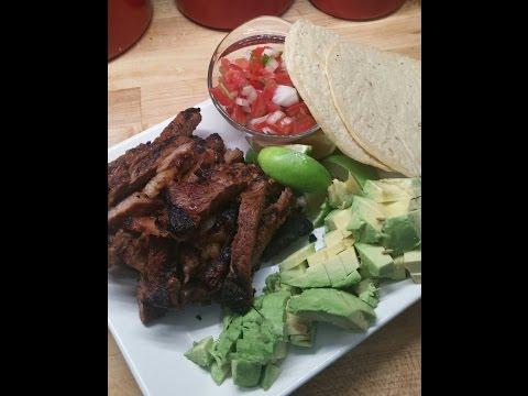 Carne Asada Taco's with Pico De Gallo and Avacado