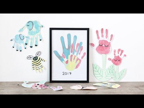 DIY : Finger painting fun by Søstrene Grene