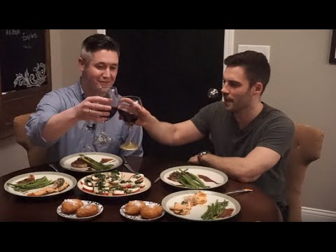 Easy Gourmet Dinner to Cook for Friends - With Sam and Thomas