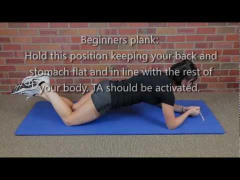 Beginners Plank to Expert Plank Core Exercise
