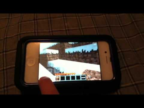 Minecraft pocket edition tutorial - HOW to drop items from your inventory