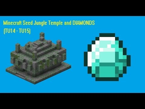 (Outdated) Minecraft seed Xbox 360/PS3 (TU16) #6 Jungle Temple, villages and Diamonds