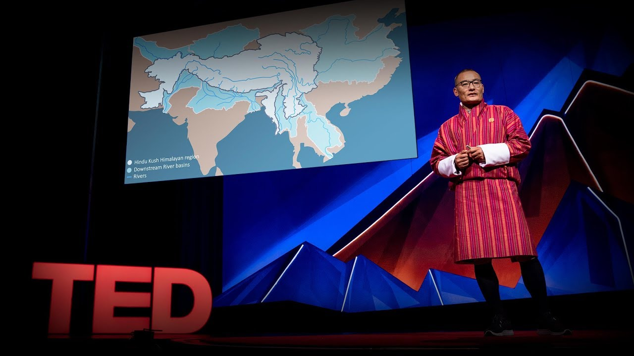 """An urgent call to protect the world's """"Third Pole""""   Tshering Tobgay"""