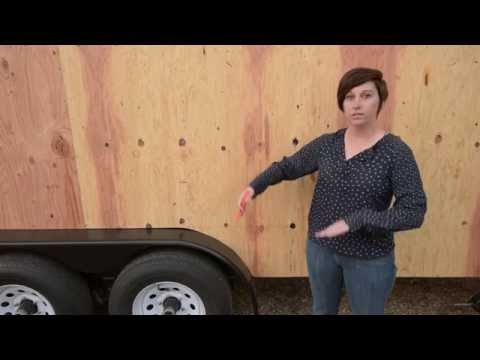 Building a Tiny House on Wheels: Step 8 - Wall Sheathing