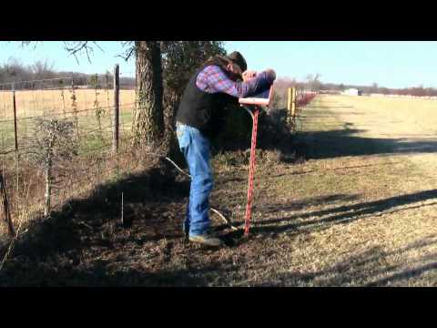 The correct way to maintain a solar powered electric fence charger ! stall13.com videos.