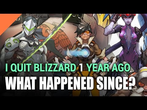 I Quit My Job At BLIZZARD 1 Year Ago - Now What?!