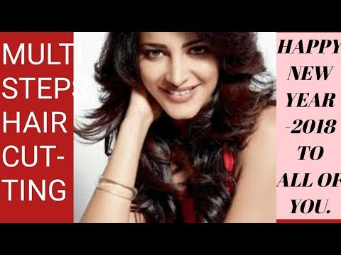 HOW TO DO MULTI STEPS HAIR CUTTING