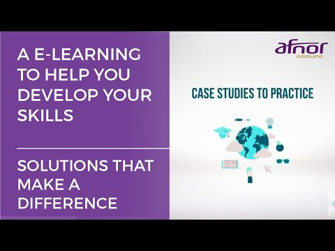A distance training to help you develop your skills