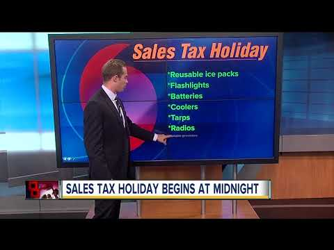 Hurricane supplies sales tax holiday begins Friday in Florida