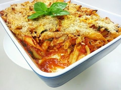 SIMPLE & DELICIOUS PASTA BAKE (How to)