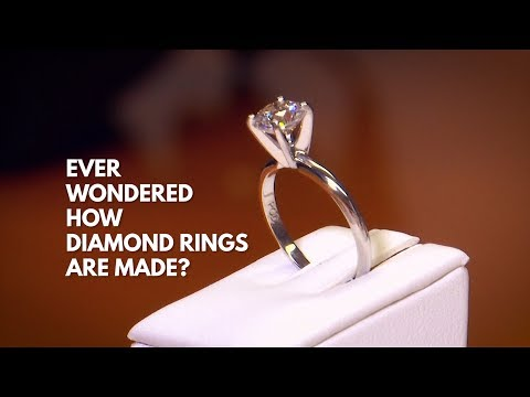 This is how diamond rings are made