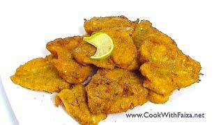 Masala Fried Fish Cook With Faiza