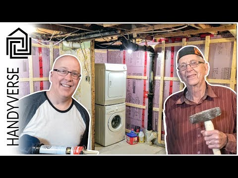 Laundry Room Makeover - Part 1: Demolition and Insulation : EP 027
