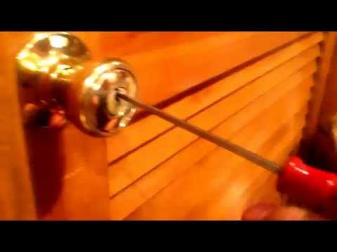 How to pick a lock with Bobby pin