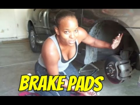 Changing my Brake Pads ( 2007 Toyota Corolla )