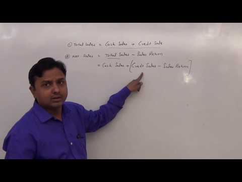 cost of goods sold, gross profit and net sales formula - class 11
