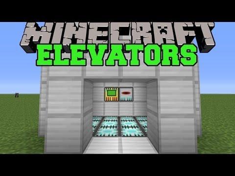 Minecraft: REAL ELEVATORS (SET UP EPIC ELEVATORS!) Mod Showcase