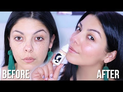 GLOSSIER : FULL FACE QUICK NATURAL GLOWY MAKEUP | SCCASTANEDA