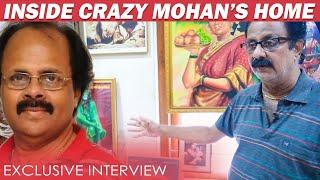 Kamal Cried Badly for Crazy Mohan : Crazy Balaji | Inside Crazy Mohan Home Exclusive