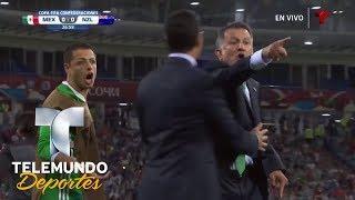 A. Talavera le tapa gol a Wood y la banca estalla | Copa FIFA Confederaciones Rusia 2017 | Telemundo